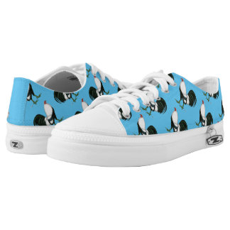 Gamecock Silver Duckwing Low-Top Sneakers