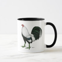 Gamecock Silver Duckwing Mug