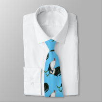 Gamecock Silver Duckwing Tie