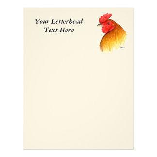 Gamecock Stag Pea Comb Letterhead