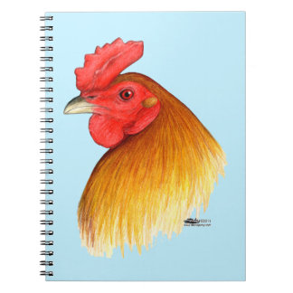 Gamecock Stag Pea Comb Notebook