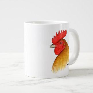 Gamecock Stag Single Comb Large Coffee Mug
