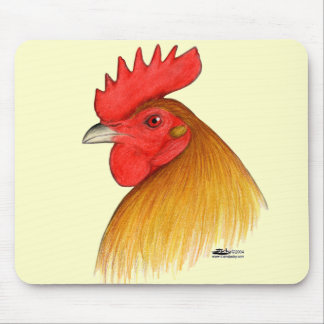 Gamecock Stag Single Comb Mouse Pad