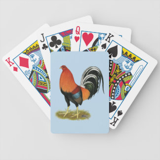 Gamecock Wheaten Rooster Bicycle Playing Cards
