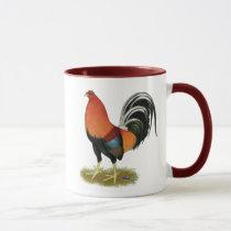Gamecock Wheaten Rooster Mug