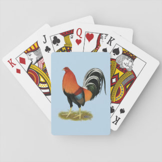 Gamecock Wheaten Rooster Playing Cards