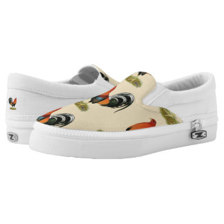 Gamecock Wheaten Rooster Slip-On Sneakers