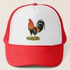 Gamecock Wheaten Rooster Trucker Hat
