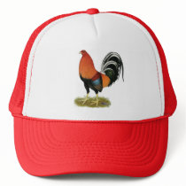 Gamecock Wheaten Rooster Trucker Hat
