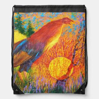 Gamecock - Wild animal Drawstring bag