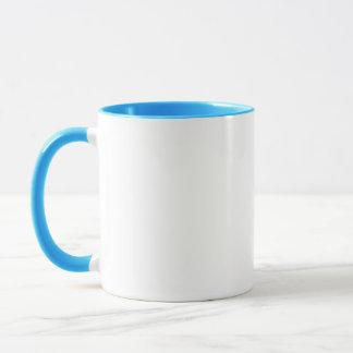 Gameday Belle Large Blue Ringer Mug