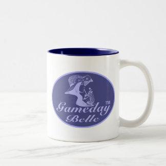 Gameday Belle Navy Blue Mug
