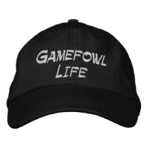 Gamefowl Life Adjustable Hat