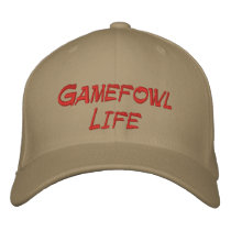 Gamefowl Life Baseball Cap