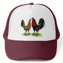 Gamefowl Pair Trucker Hat