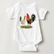 Gamefowl Wheatens Baby Bodysuit