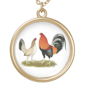 Gamefowl Wheatens Gold Plated Necklace