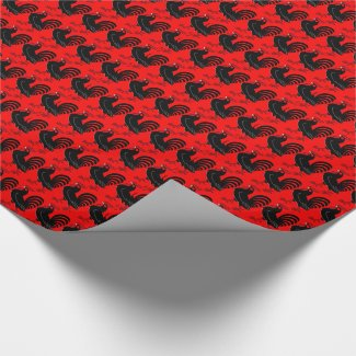 Gamefowl Wrapping Paper