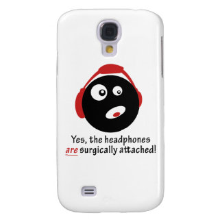 GameFYi Headphones Surgically Attached Galaxy S4 Case