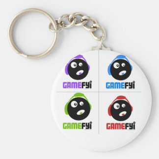 GameFYi Team Play Keychain
