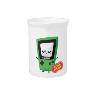 GameGirl green Pitcher