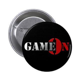 GameOn Netowrk Logo 2 Inch Round Button
