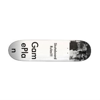 GamePlan Skateboard Rules!!!