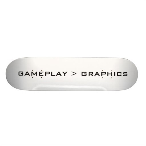 Gameplay > gráficos. Negro Patín