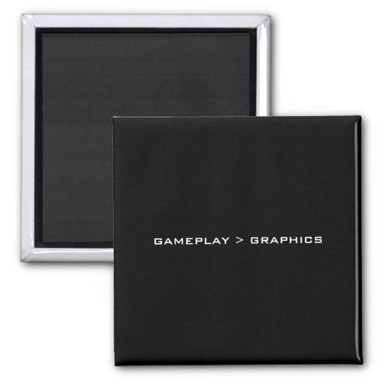 Gameplay > Graphics. Black White. Magnet