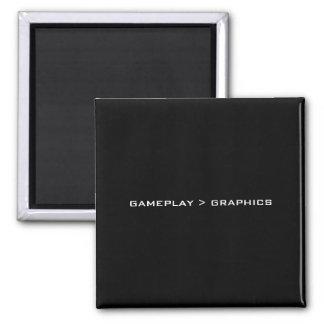 Gameplay > Graphics. Black White. Magnets