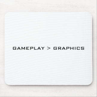 Gameplay > Graphics. Black White. Mouse Pad