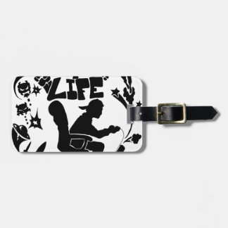 Gamer 4 Life Tag For Luggage