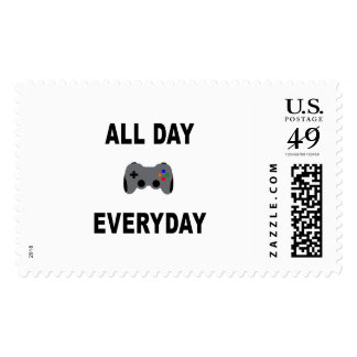 Gamer All Day Everyday Postage