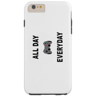 Gamer All Day Everyday Tough iPhone 6 Plus Case