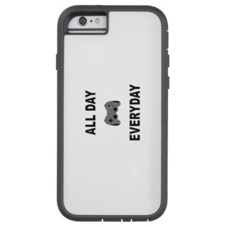Gamer All Day Everyday Tough Xtreme iPhone 6 Case