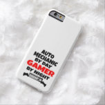 Gamer Auto Mechanic Barely There iPhone 6 Case