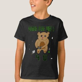 Gamer Bear Wins 1 4 U T-Shirt