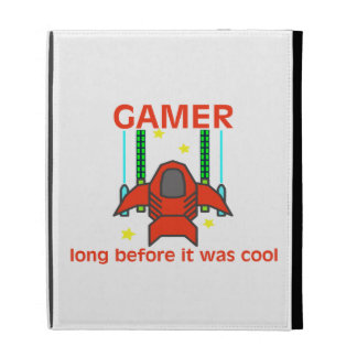 Gamer Before It Was Cool Retro Style iPad Folio Covers