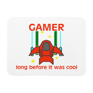 Gamer Before It Was Cool Retro Style Magnet