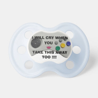 GAMER BEST  FRIEND PACIFIER