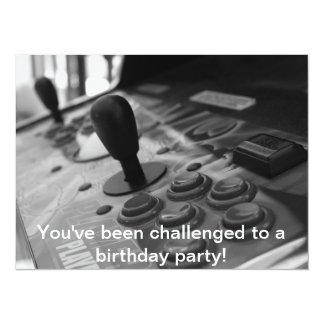 Gamer Birthday Party Card