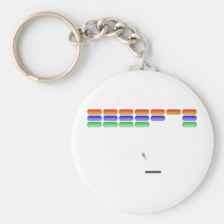 Gamer - Brick Shooting Basic Round Button Keychain