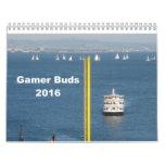 Gamer Buds Calendar 2016