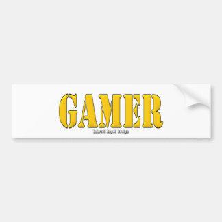 Gamer Car Bumper Sticker