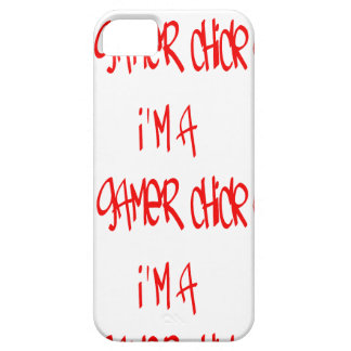 Gamer Chick (Chick) iPhone 5 Cases