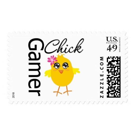 Gamer Chick Stamp