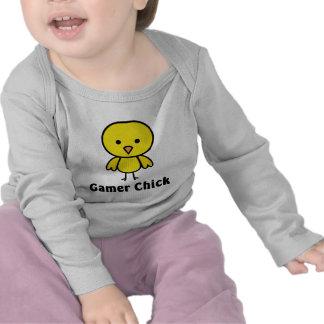 Gamer Chick Tee Shirts