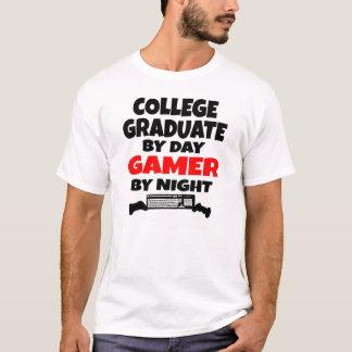 Gamer College Graduate T-Shirt