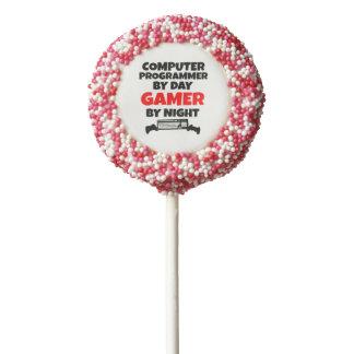 Gamer Computer Programmer Chocolate Covered Oreo Pop