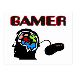 Gamer Controller Postcard